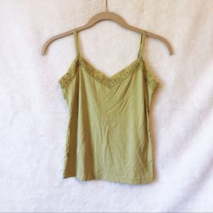 Loft Lime Laced Cami